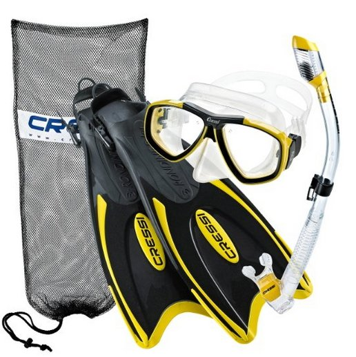 Cressi Snorkel Set Comparisons