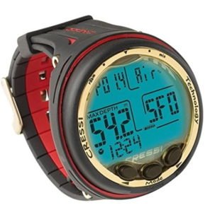 computer dive watch made by Cressi