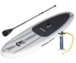 SUP inflatable with oar and pump