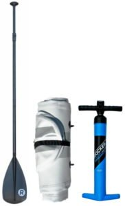 pump and paddle for iRocker sup