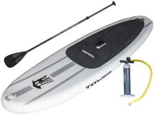 Tower inflatable sup